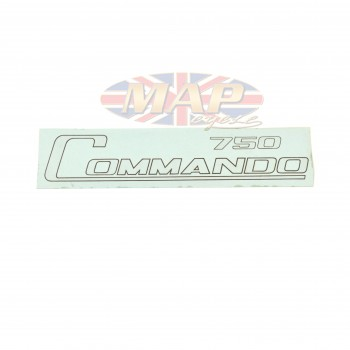 DECAL/  COMMANDO 750 / GOLD 06-1017
