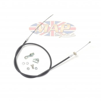 Norton Commando Roadster, SS, Fastback Front Brake Cable No Switch    06-2491/B