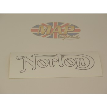 DECAL/ NORTON GOLD/BLACK 03-5039