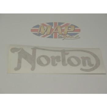 DECAL/  NORTON  TANK/ GOLD 06-4880