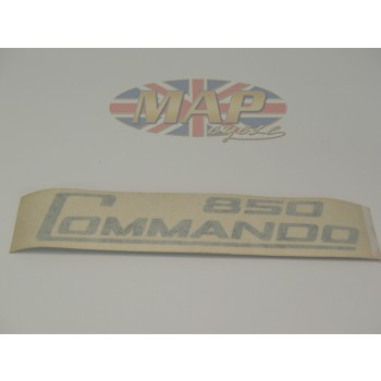 DECAL/  850 COMMANDO  BLK (OE PEEL OFF) 06-5096