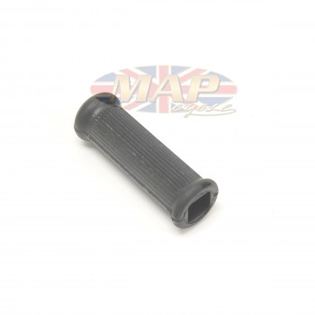 BSA Passenger Footpeg Rubber, Ribbed, Square Hole 29-7583