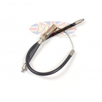 Triumph T120, T100T, T100TT Throttle Cable - (Upper) Twist Grip to Junction  60-0423