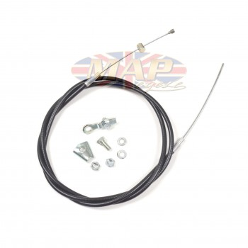 Triumph T120, TR6 Extended Length Front Brake Cable  60-0665/EL