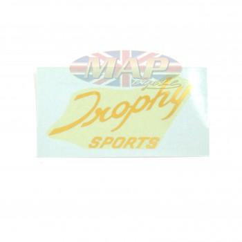 DECAL/  TROPHY SPORTS  (TRI TR6R) 60-0678