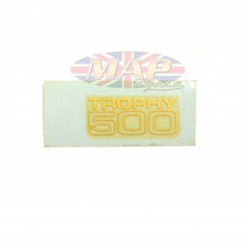 DECAL/  TROPHY 500  SMALL BLOCK 60-2064