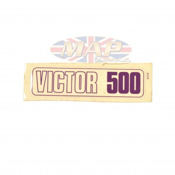 DECAL/  VICTOR 500 60-3258