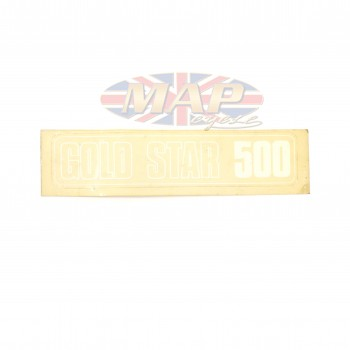 DECAL/  GOLD STAR 500 60-3260