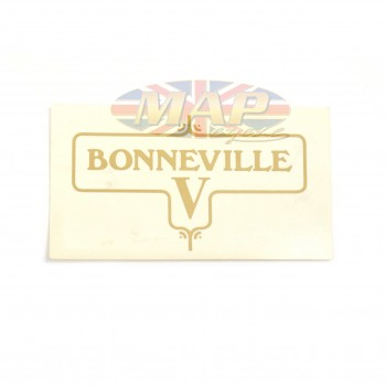 DECAL/  BONNEVILLE V 60-3950