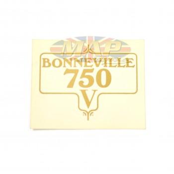 DECAL/  BONNEVILLE 750 60-3953