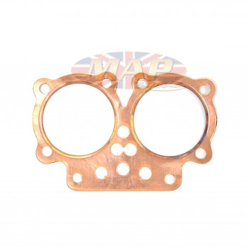 BSA A7 1947-50 English-Made High Quality Copper Head Gasket 67-0028