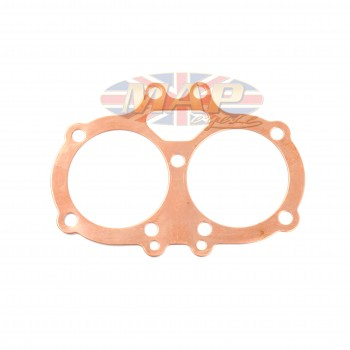 BSA A65, A70 English-Made, Dead Soft Copper Head Gasket 68-0827