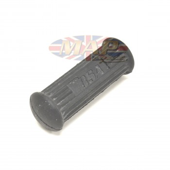 BSA A50/65 Footpeg Rubber with Logo Inlay 83-2651