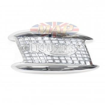 Triumph UK-Made Left Tank Emblem (sold individually) 82-4127