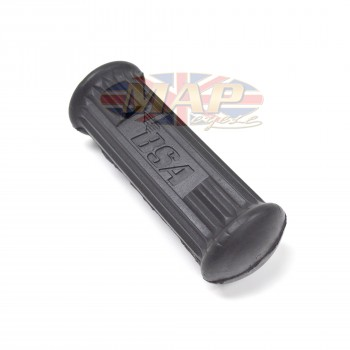 BSA A50, A65 Footpeg Rubber with Logo Inlay 82-9602