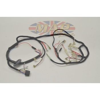 norton 1968 70 p11 650 mercury quality uk made wiring harness rh mapcycle com Car Wiring Harness Wiring Harness Terminals and Connectors