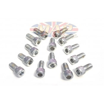 Norton Commando Chrome Allen-Head Rocker Cover Screws MAP3068/C
