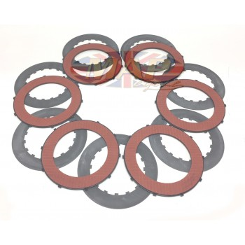 Triumph No-Drag Complete Clutch Plate Kit - Electric Start Models MAP2151