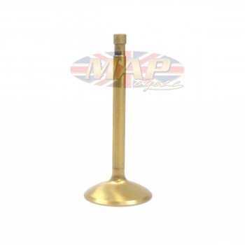 "Triumph 650-750cc Titanium-Inconel Coated Oversized Racing Intake Valve 1.66"" MAP9164"