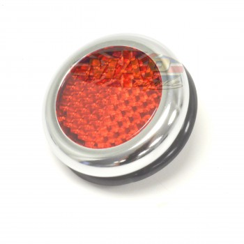 Lucas-Style Reproduction Red Reflector RER25-RED