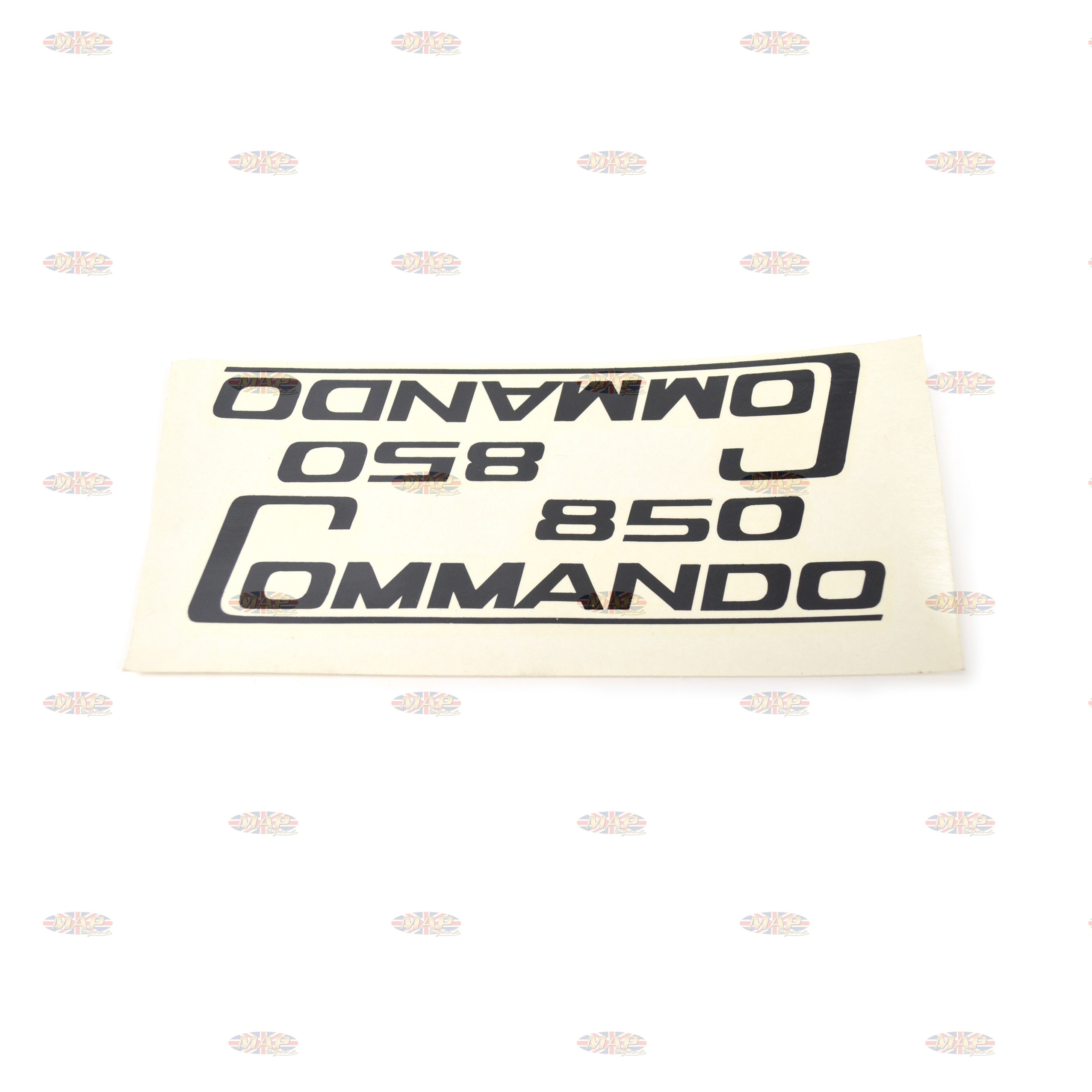 DECAL/  850 COMMANDO  BLK (WATER TYPE)pr 06-5096/E