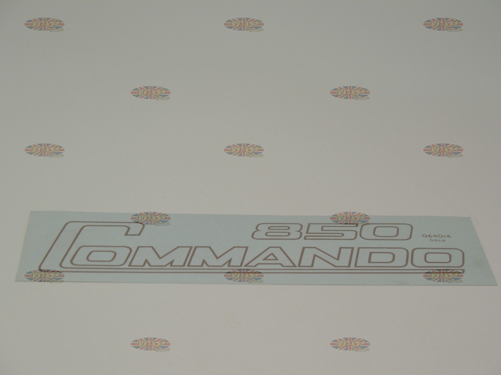 DECAL/  850 COMMANDO  GOLD (OR 06-5097) 06-4014