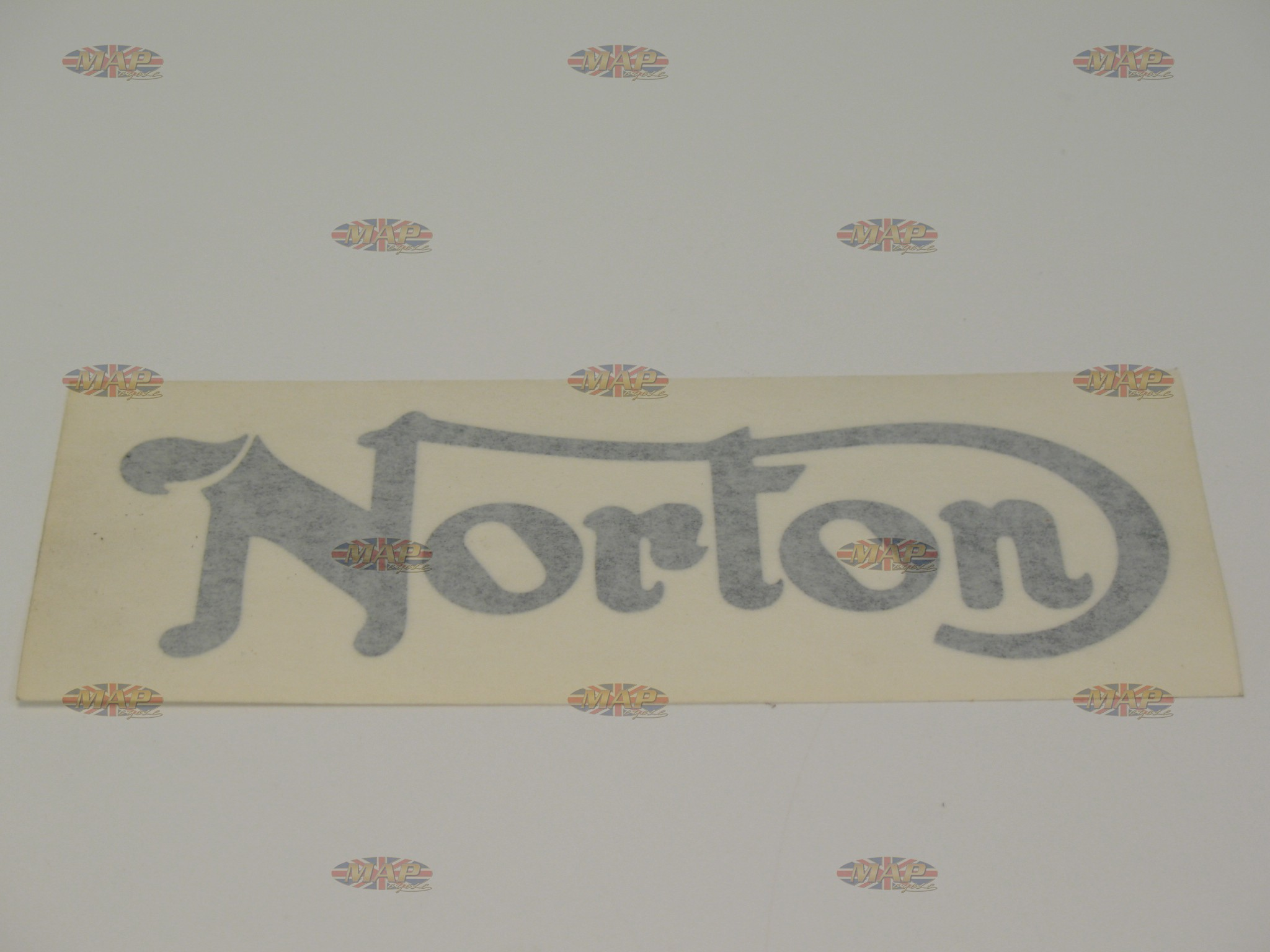 DECAL/  NORTON  BLACK (GASTANK) 06-6987