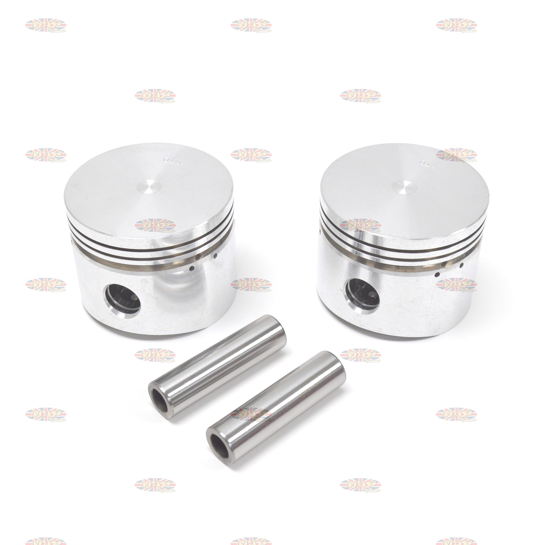 Norton 850 Commando Piston Set 19342/E-GRP