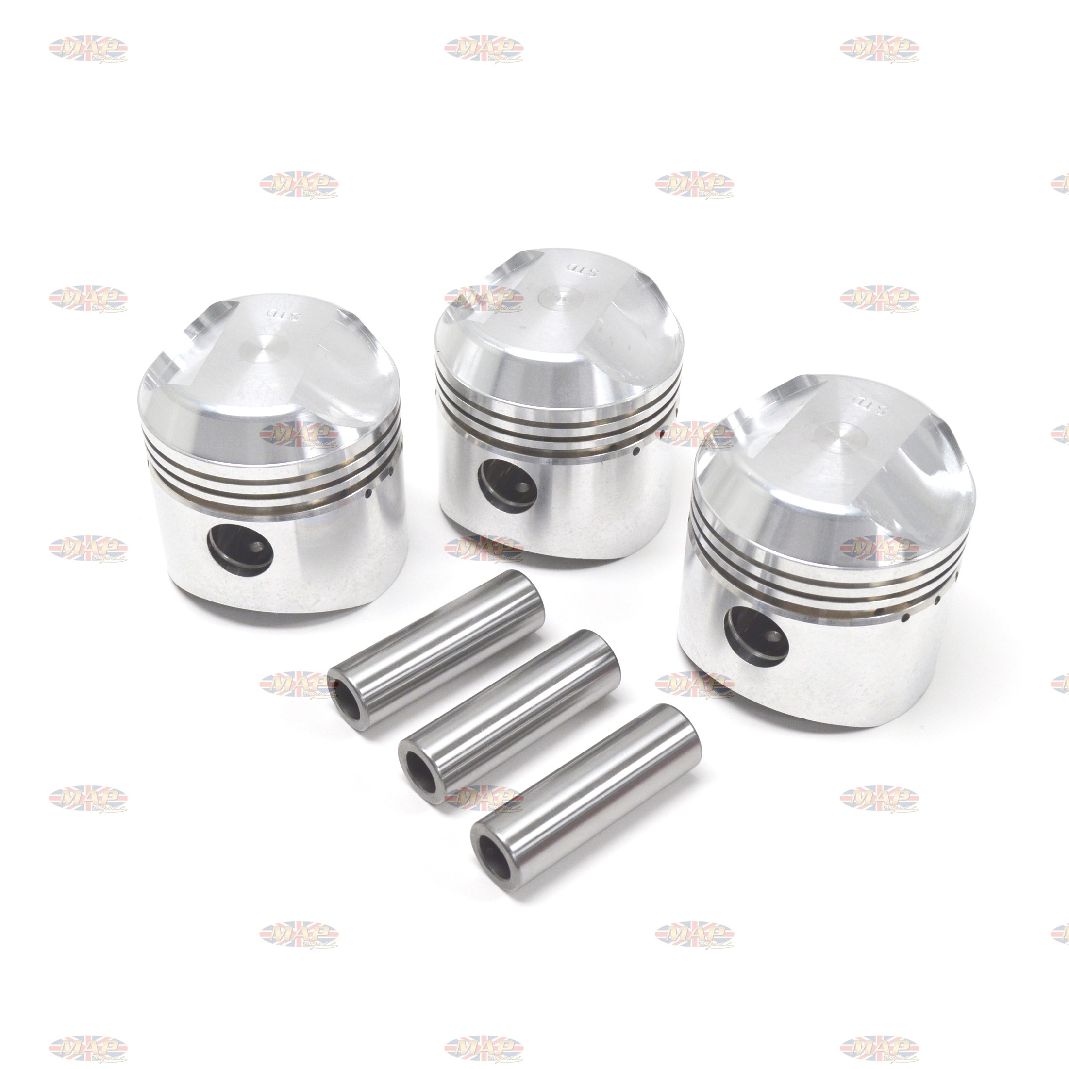 Triumph/BSA Triples Piston Set 19916/E-GRP