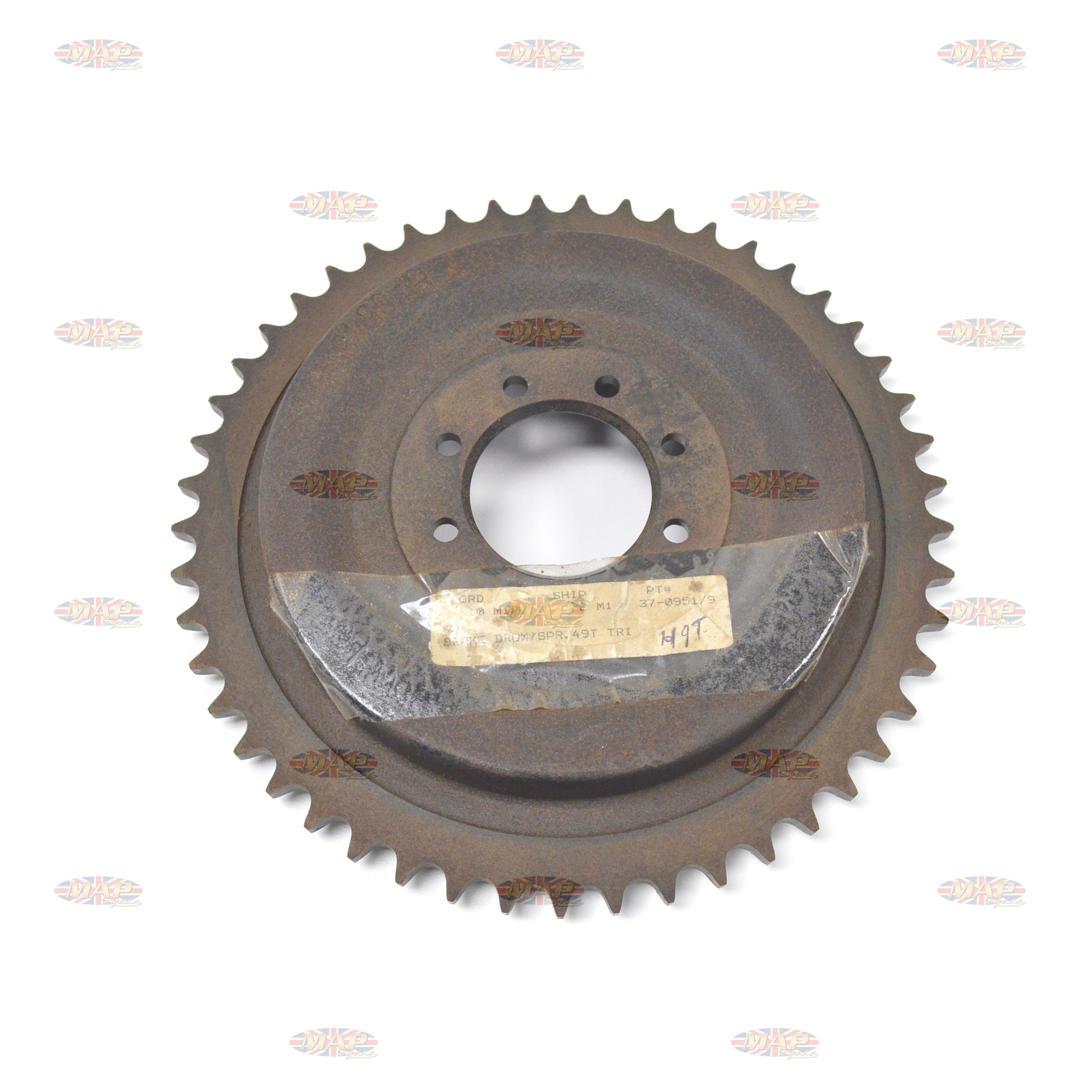 DRUMSPROCKET/ TRI 46T 8-BOLT PATTERN 37-0951/P