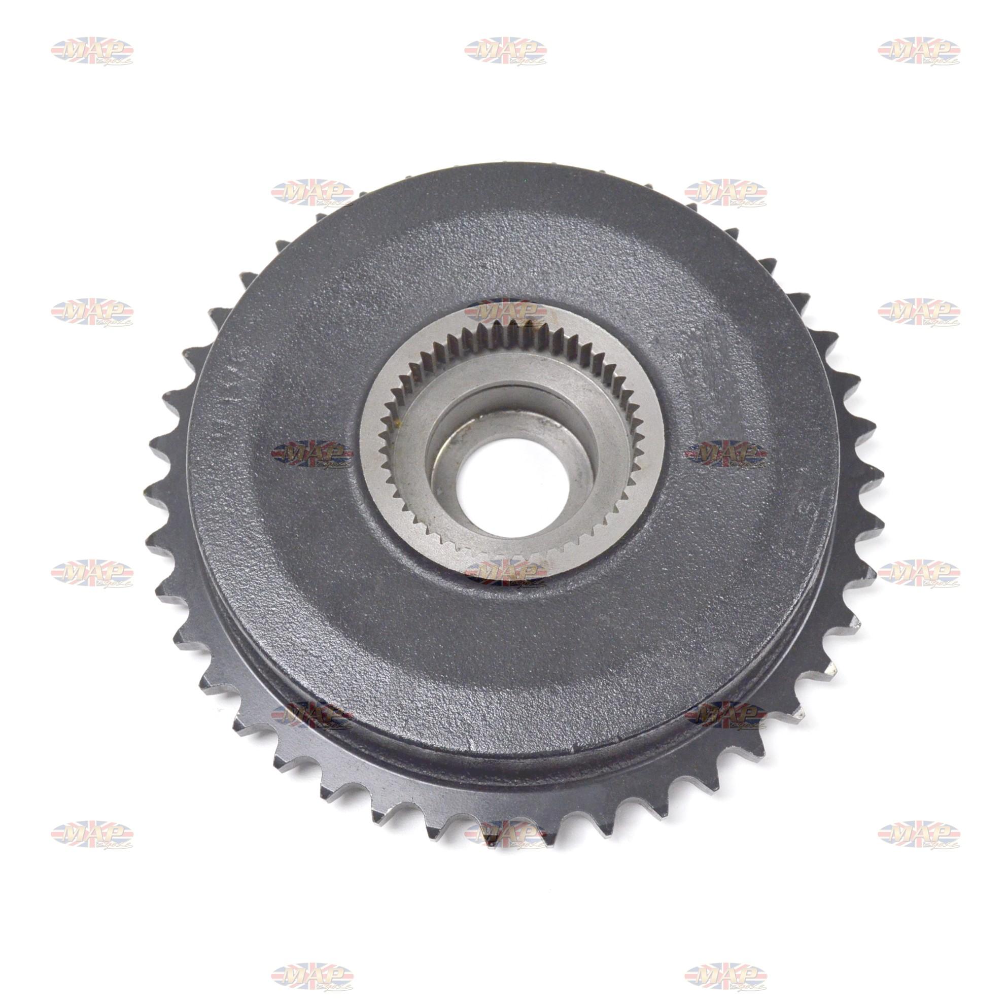 DRUMSPROCKET/ TRI 43T (QC) Cast-Iron (UK 37-1376