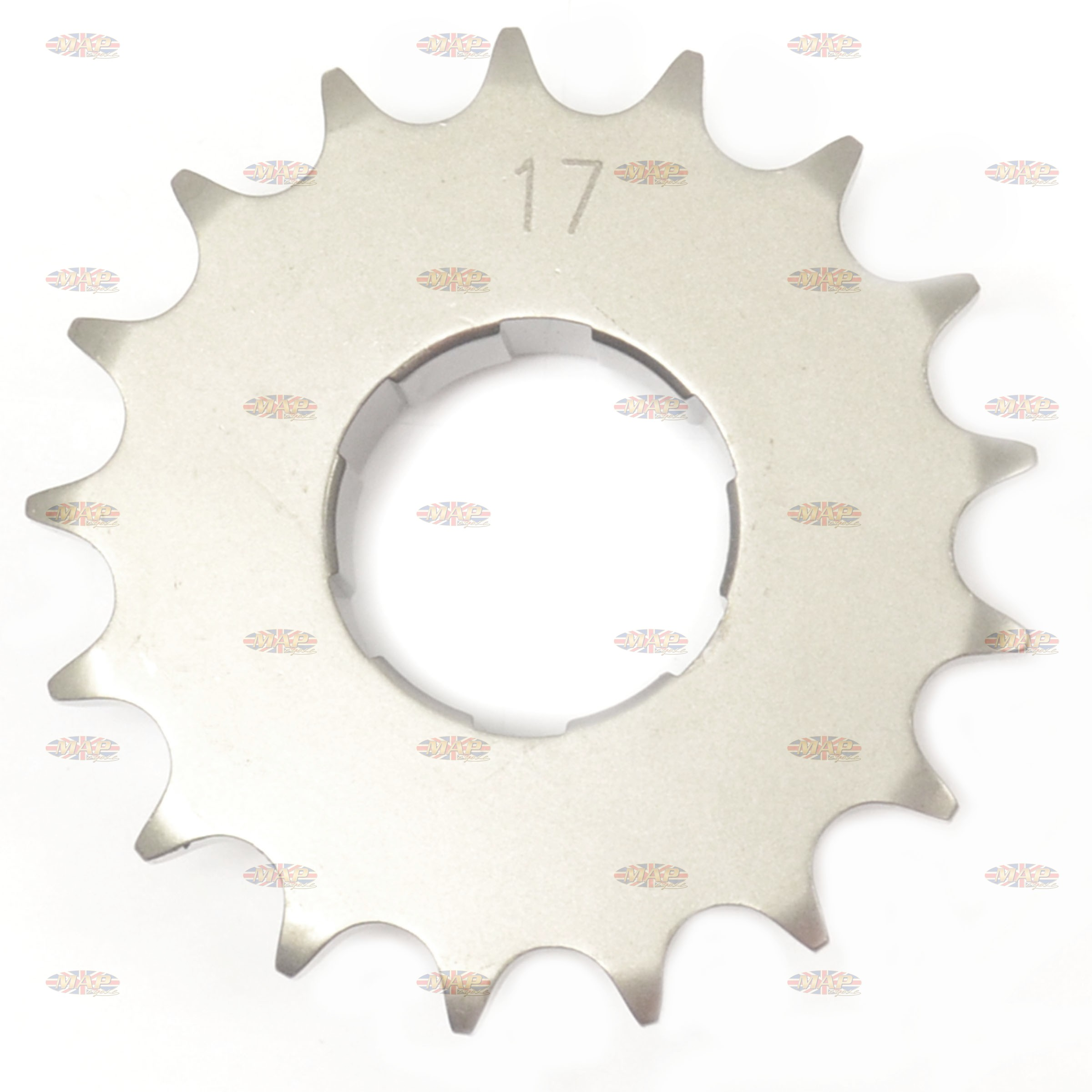 BSA C15 B40 Gearbox 17T Tooth Sprocket  40-3053/E
