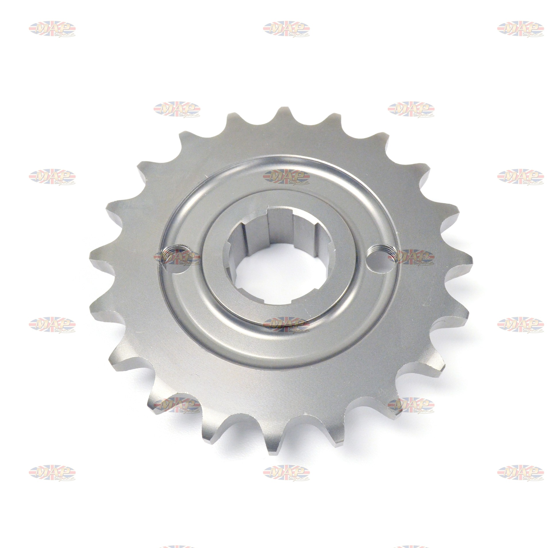 Triumph 500cc, 20-Tooth, UK-Made, Countershaft Sprocket  57-1476/20