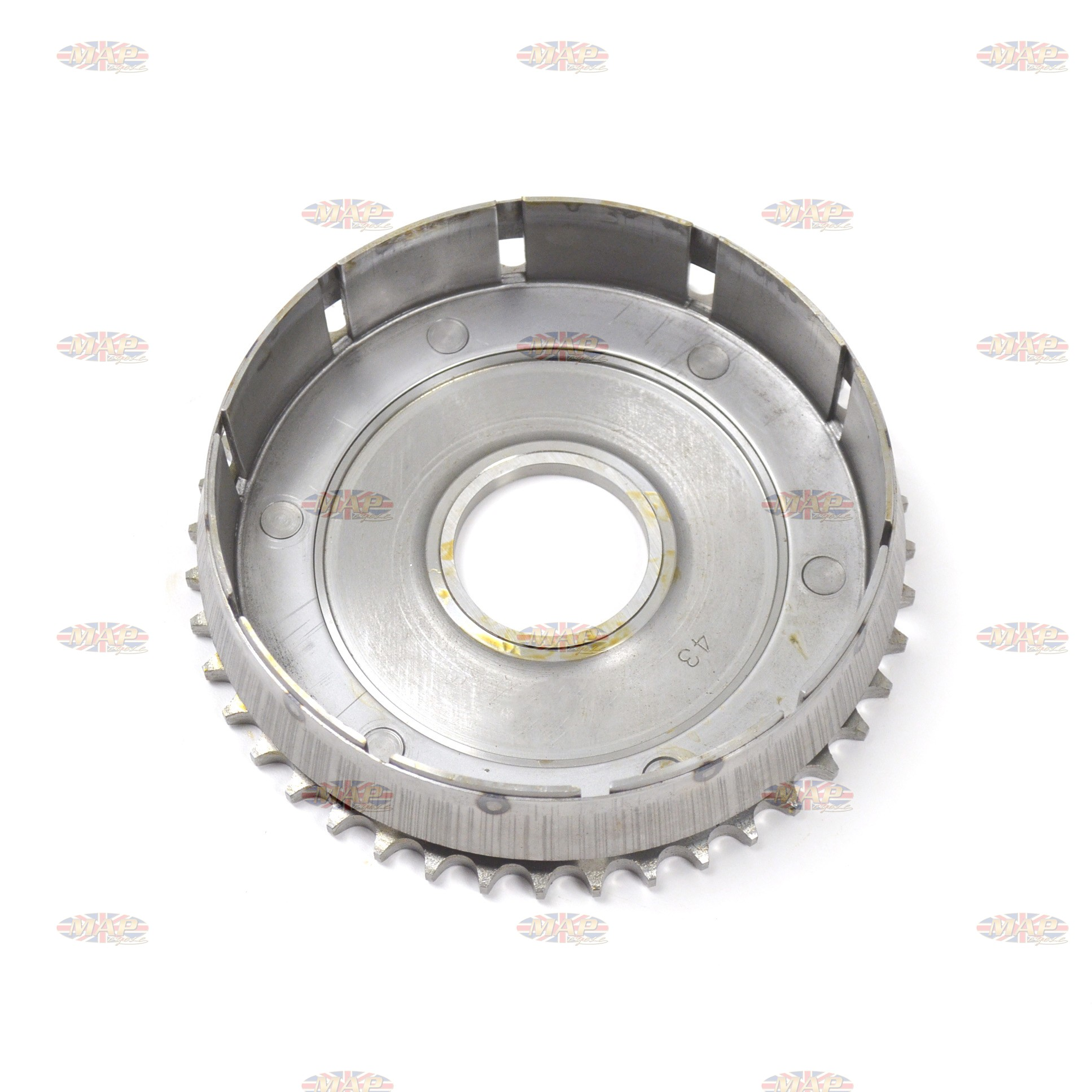 Triumph 500-650cc Pre-Unit, Reproduction, Clutch Basket, Chainwheel 57-1549/P