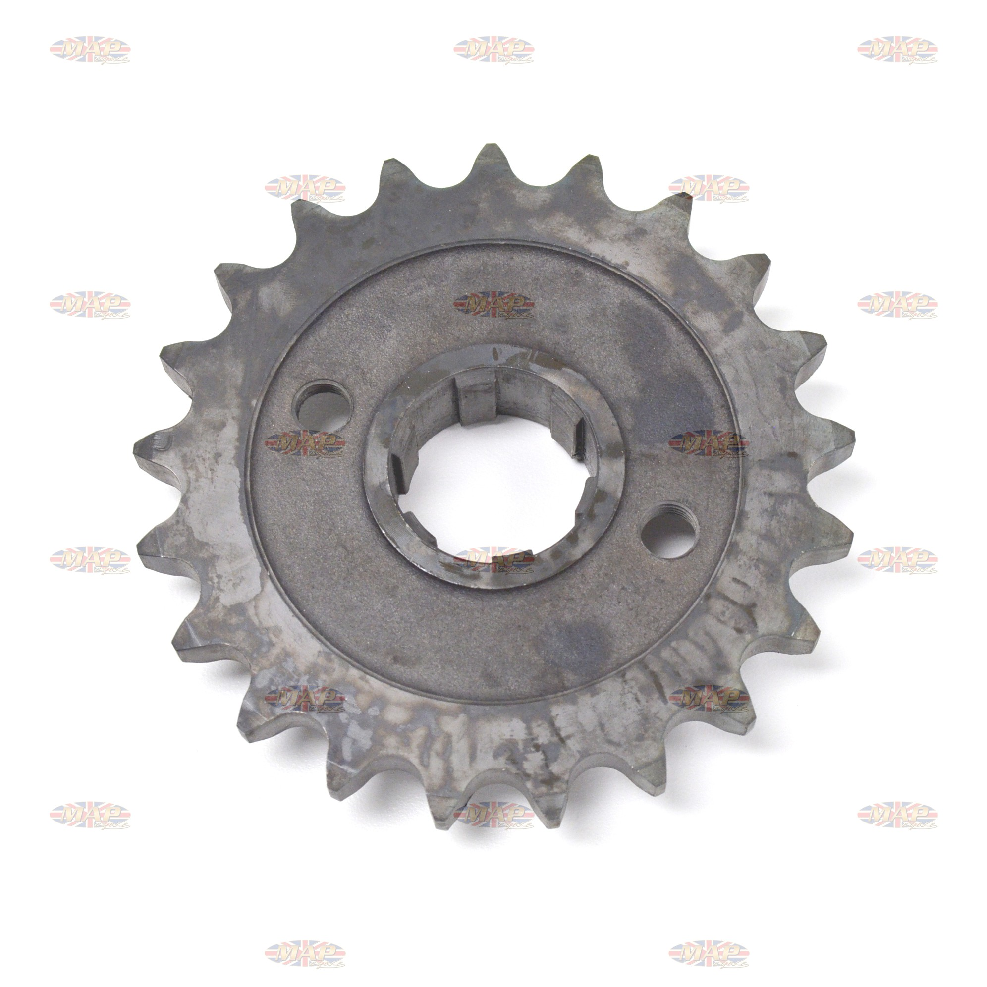 Triumph 650cc, 21 Tooth, UK-Made, Countershaft Sprocket  57-1749/21