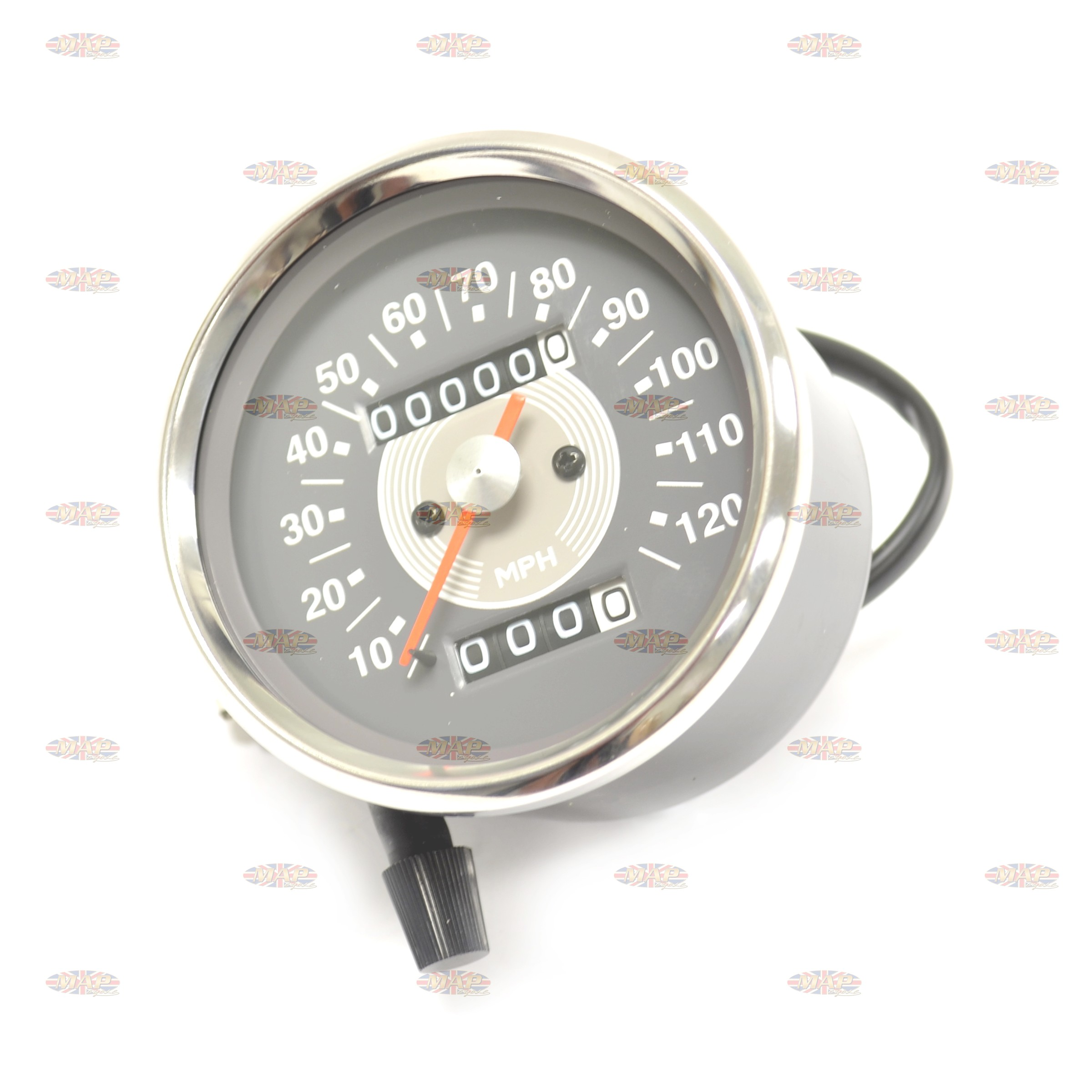 Smith Style Gauge Triumph Norton Atlas Speedometer 2:1 58-43647