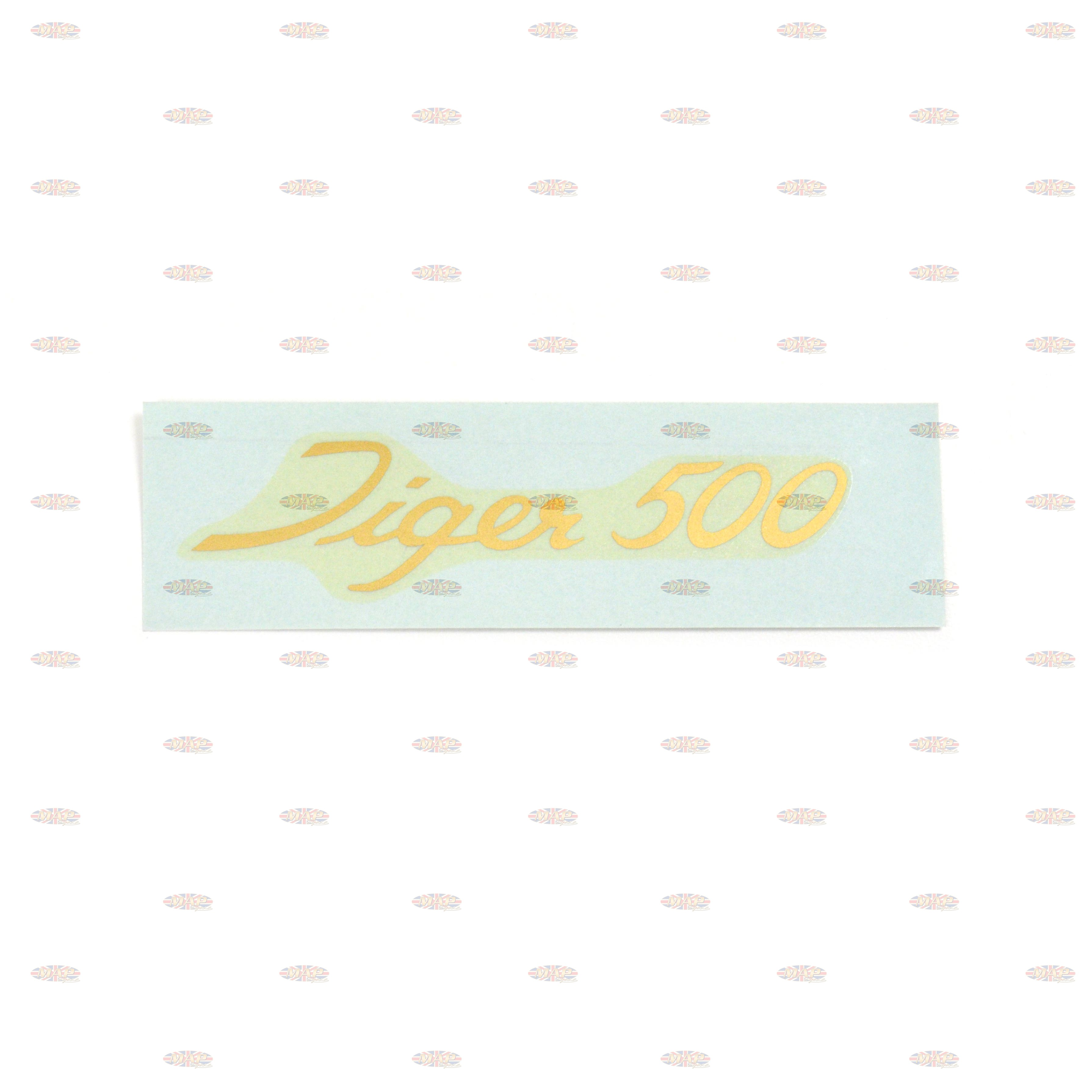 DECAL/  TIGER 500  (LARGE SCRIPT) 60-1917