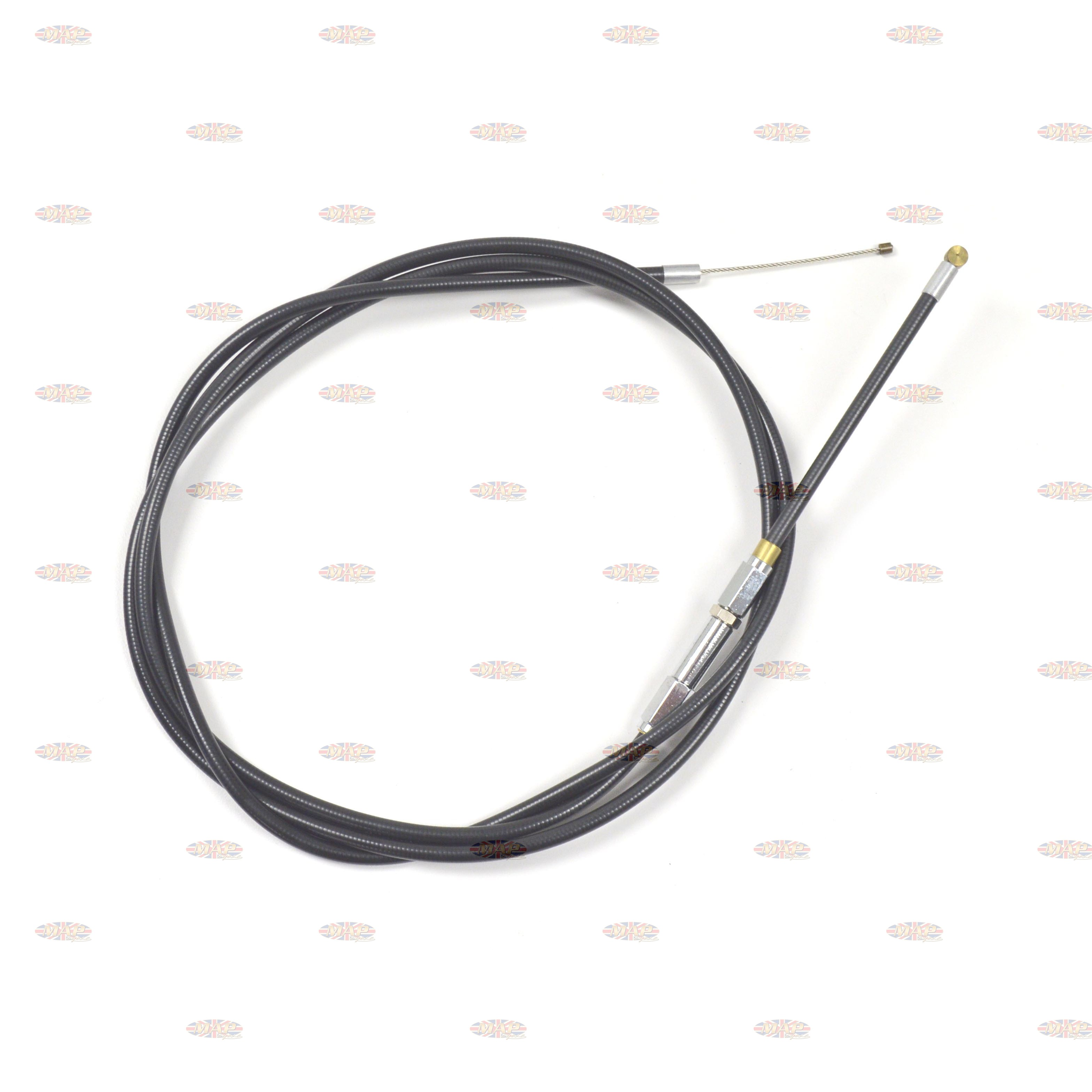 High Quality Triumph Trident BSA Rocket III Choke Cable (Upper) Junction to Carburetor  60-1968