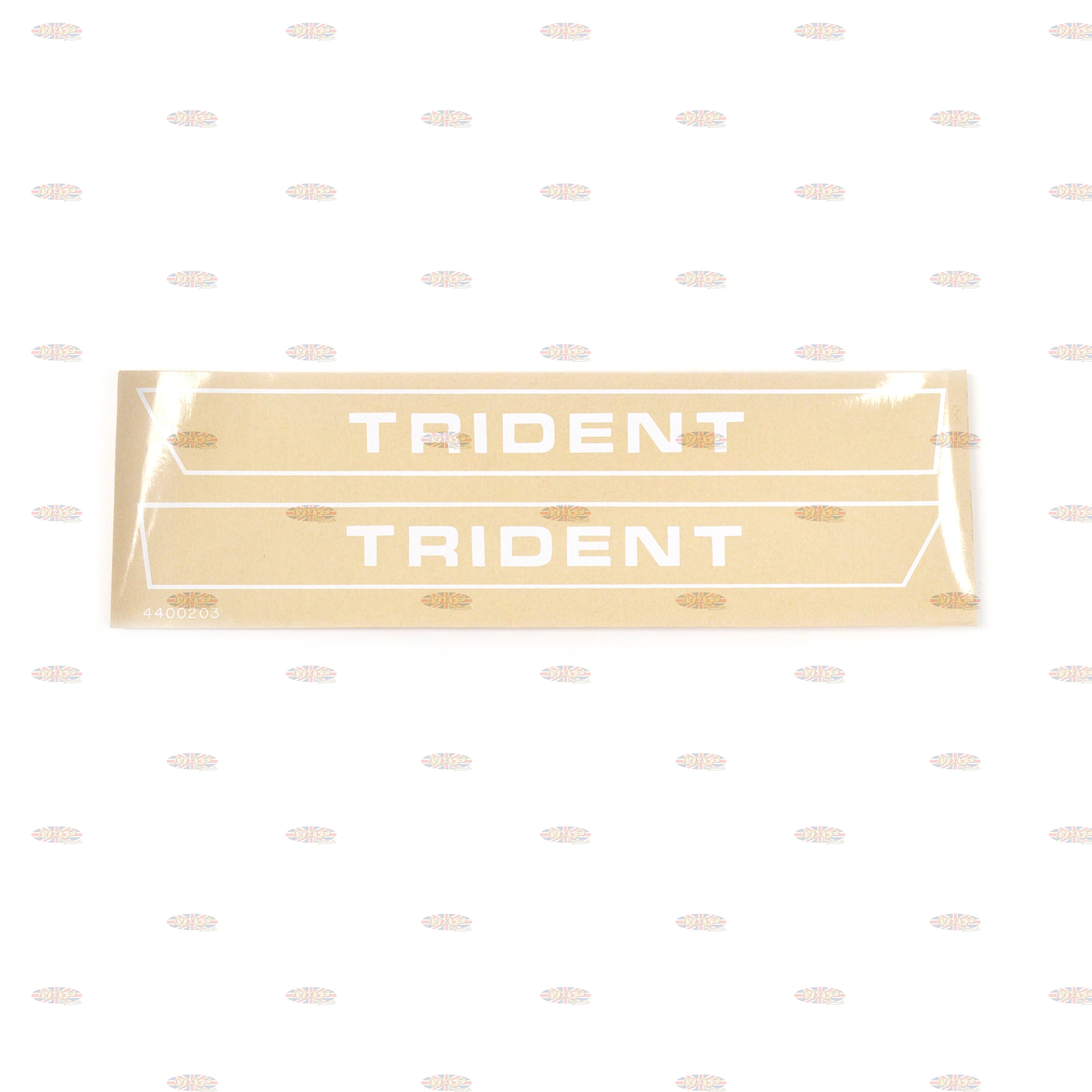 DECAL SET/  TRIDENT   71-72 60-2564/2565