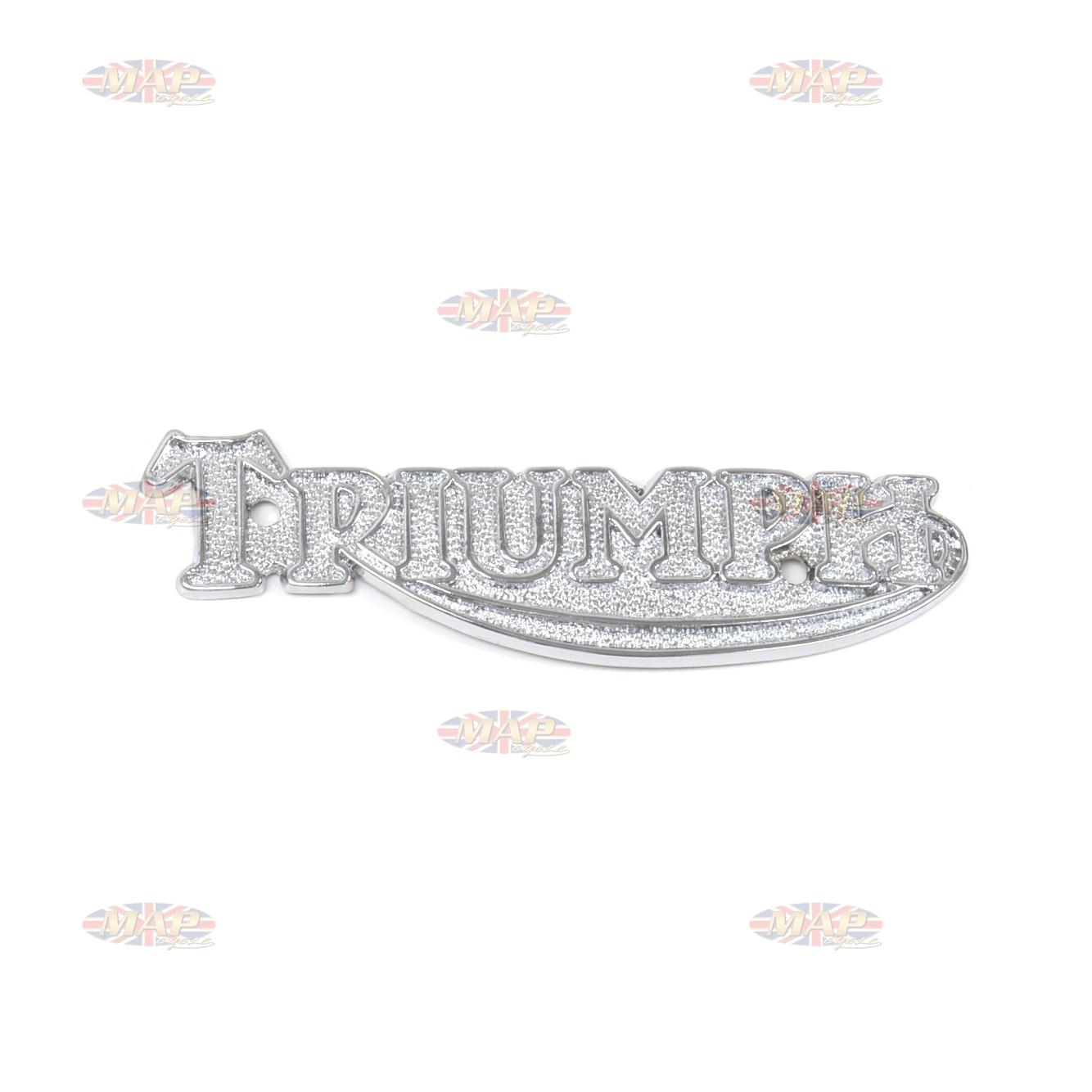 Triumph T140-TR7, English-Made, Tank Badge (sold individually)  60-2569