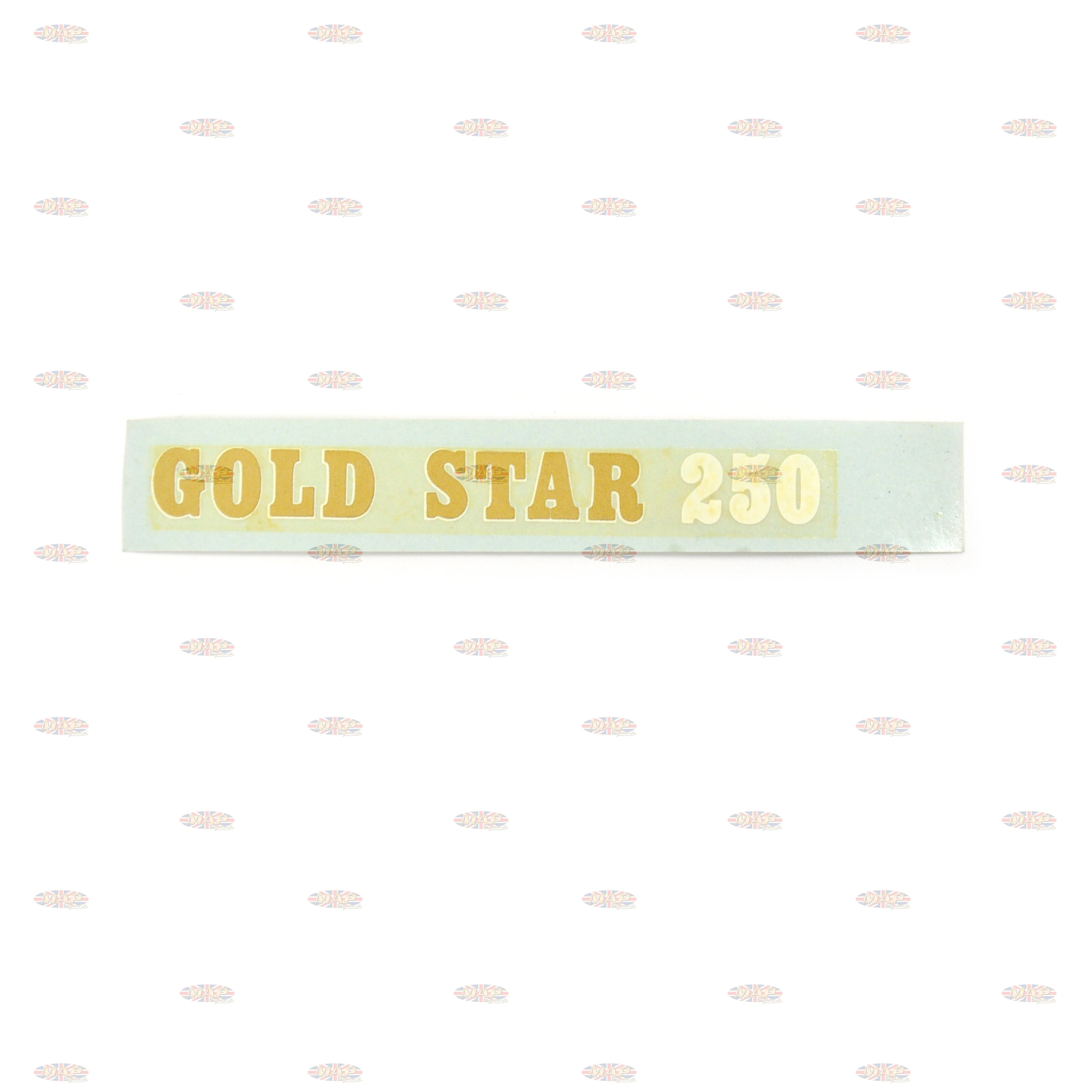 DECAL/  GOLDSTAR 250 60-3259