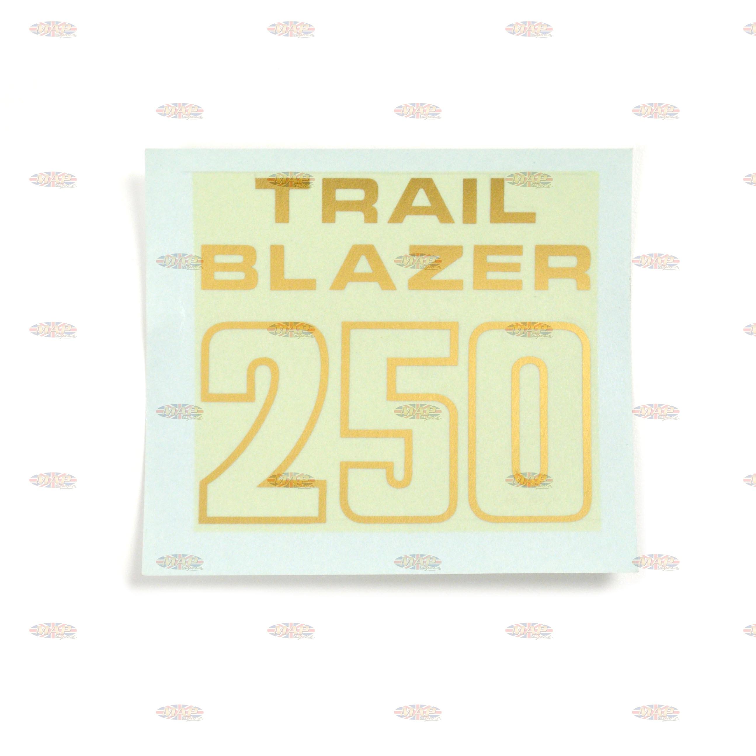 DECAL/ TRAIL BLAZERS 250 60-3263