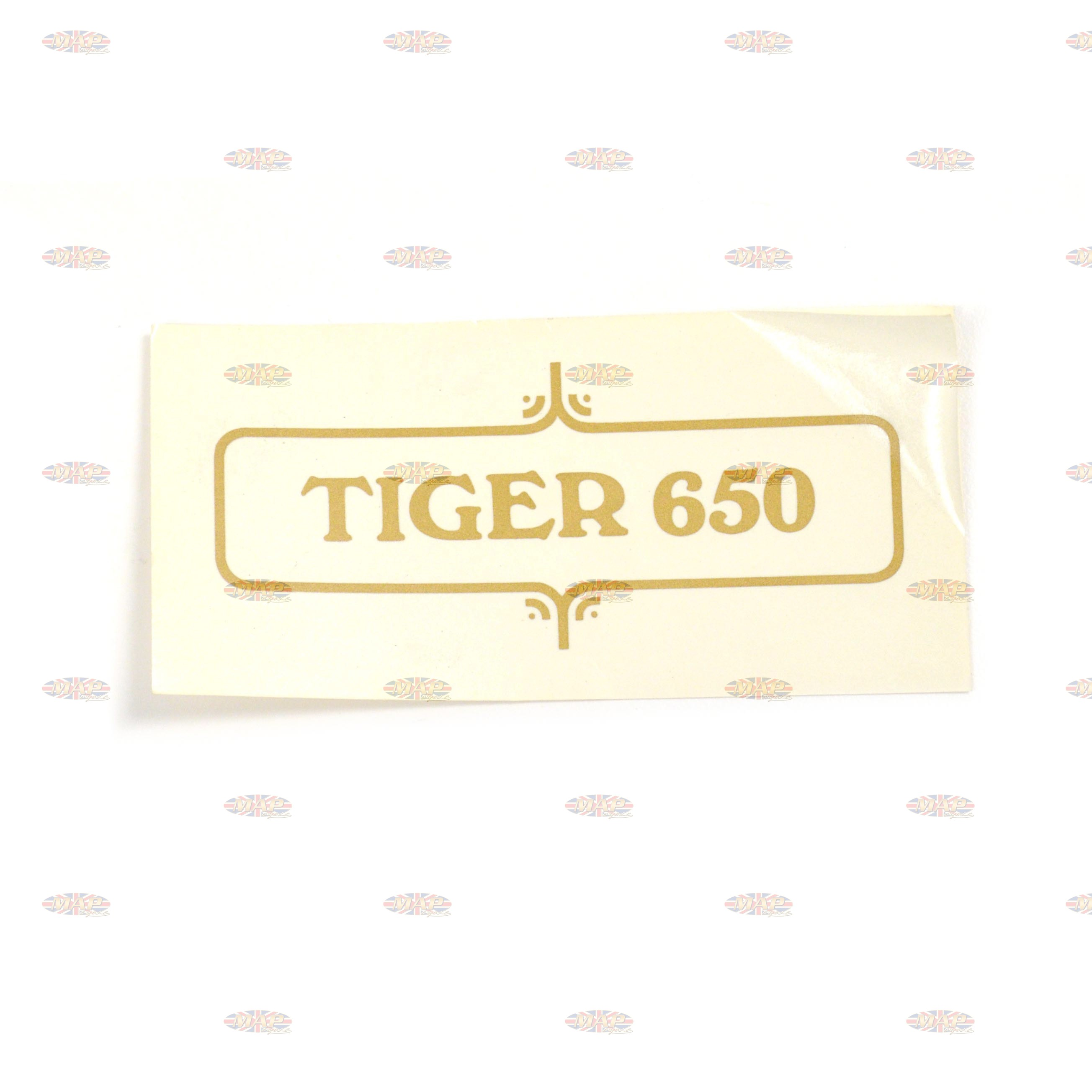 DECAL/  TIGER 650   (VARNISH TYPE) 60-3723