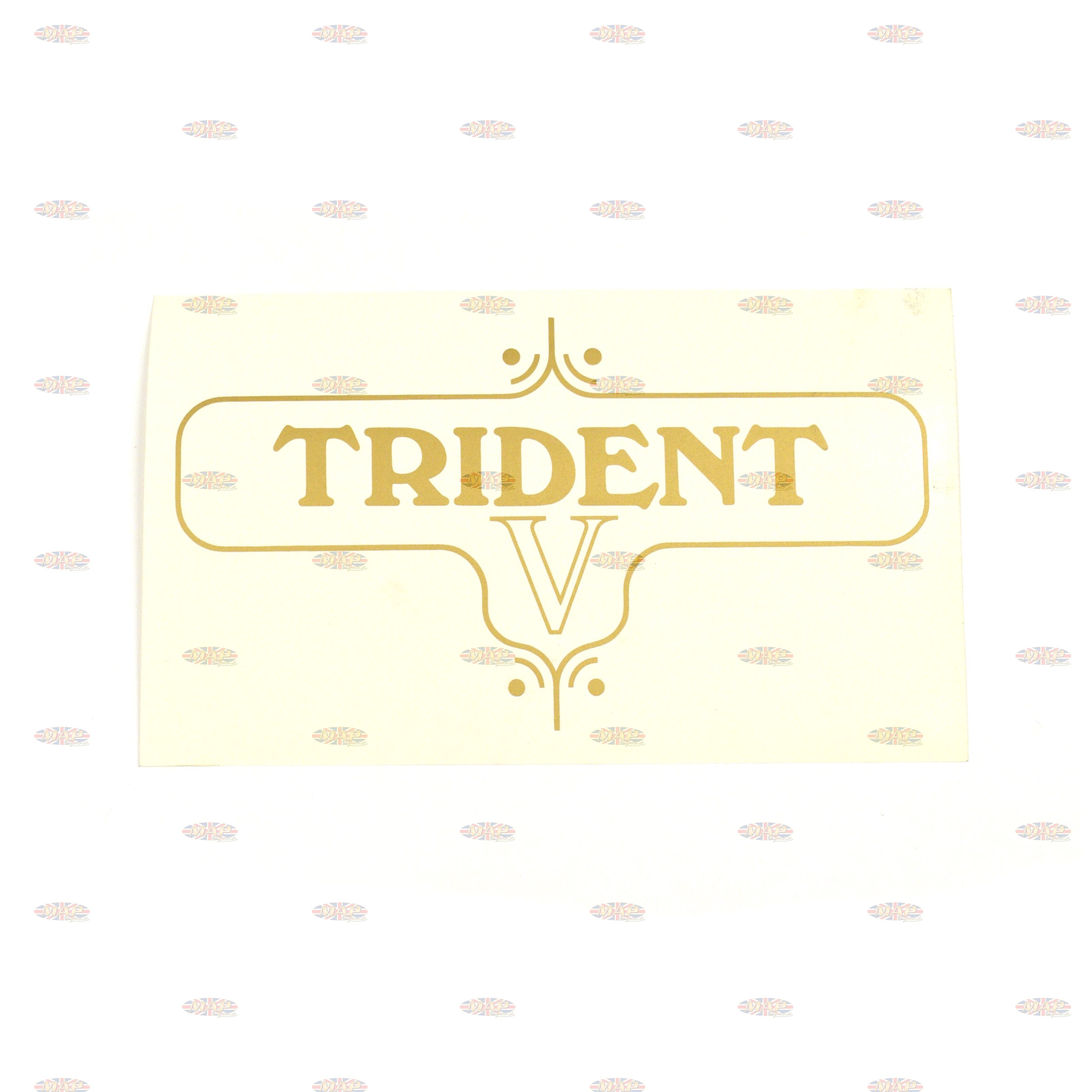 DECAL/  TRIDENT V 60-3954