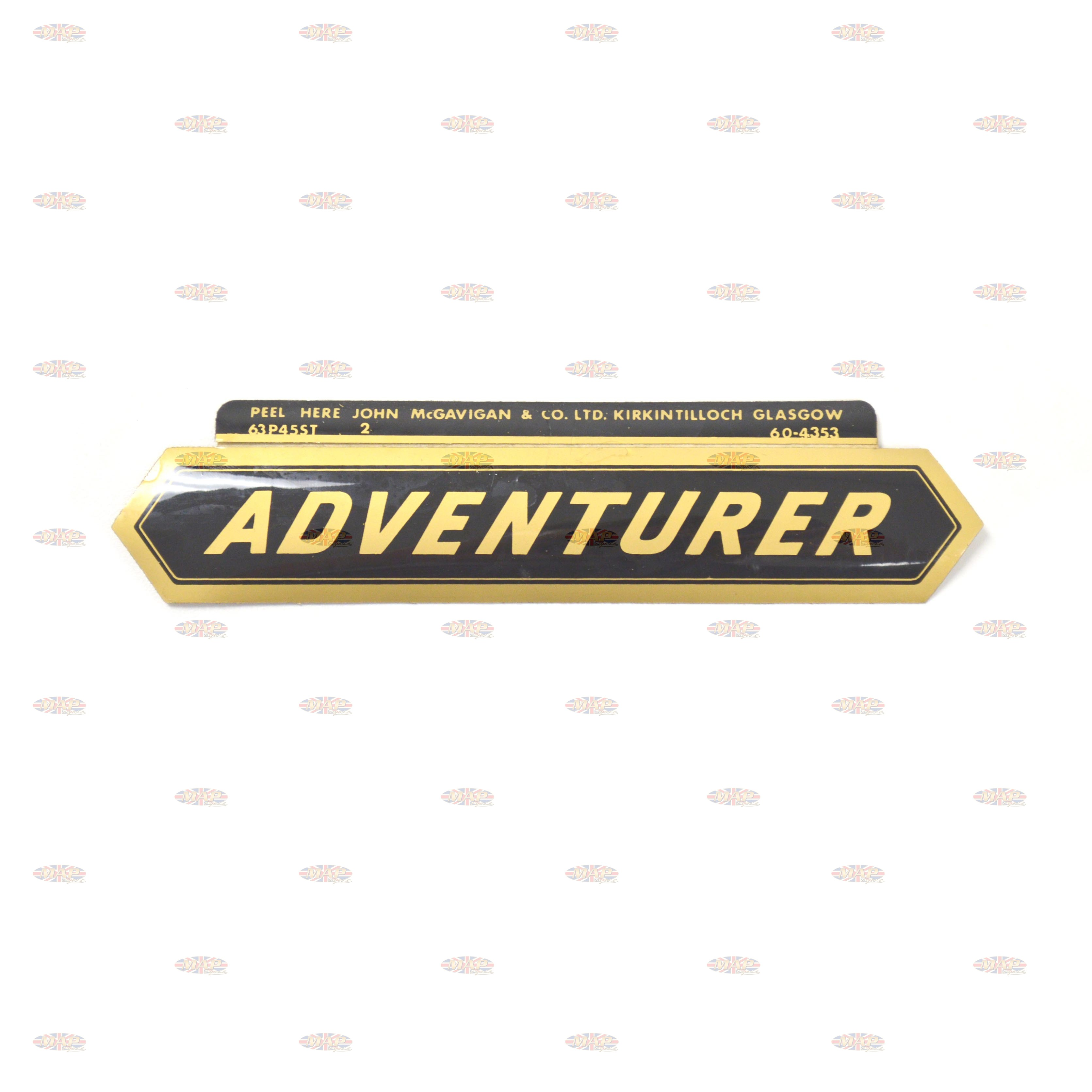 DECAL/  ADVENTURER 60-4353