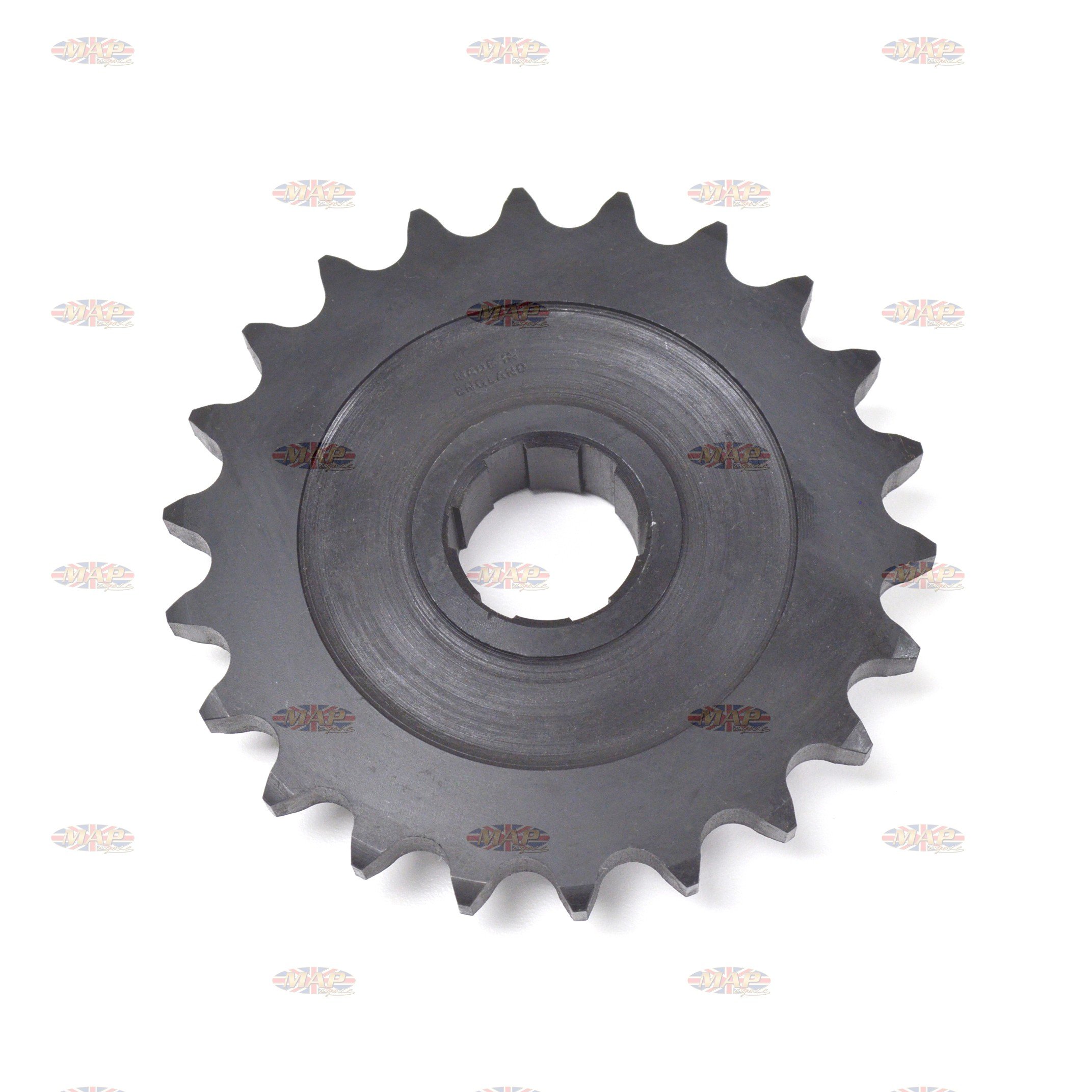 BSA A50, A65, 22-Tooth, UK-Made, Countershaft Sprocket  68-3089/22
