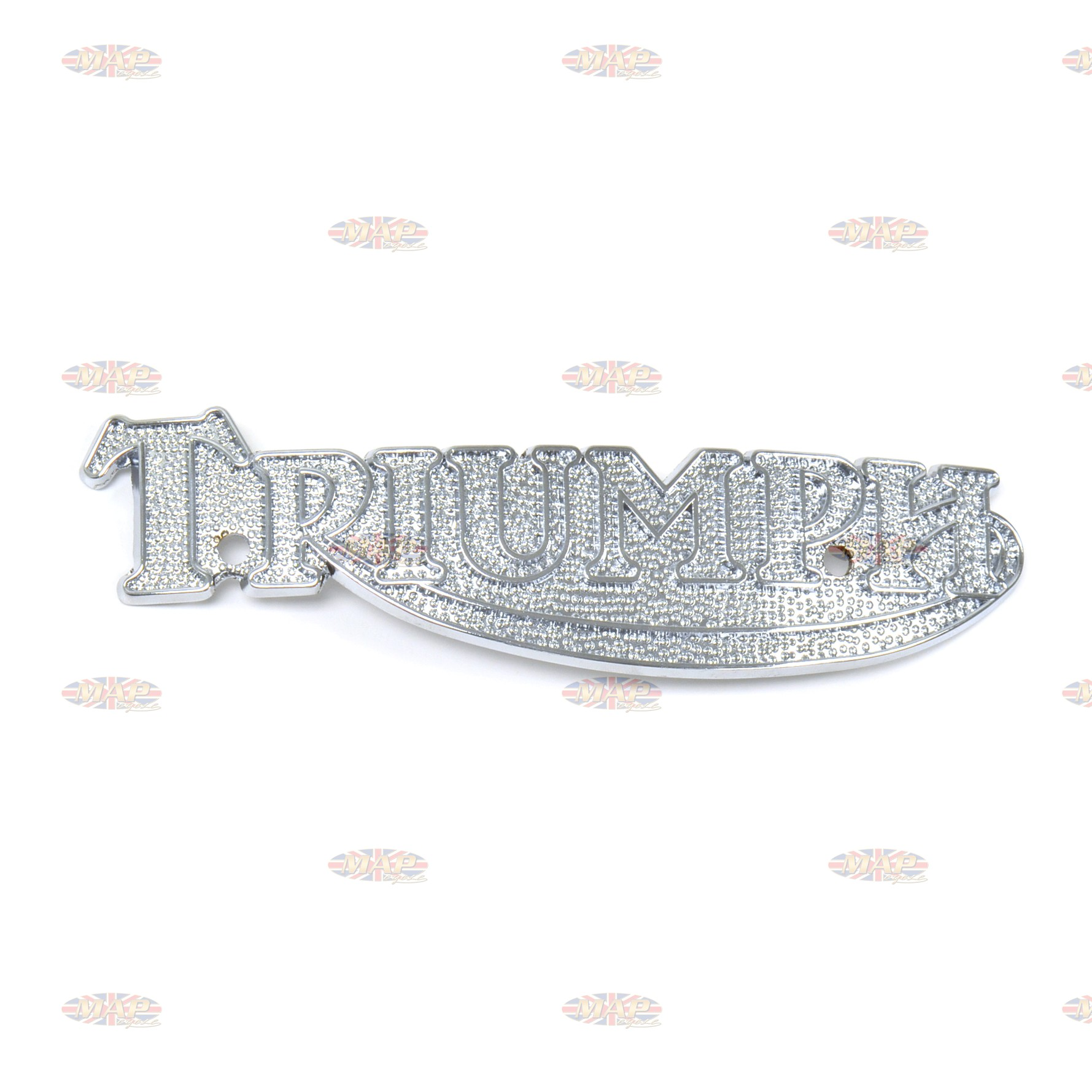 Triumph T140 T160 TR7 Chrome Tank Badge (sold individually) 83-5361