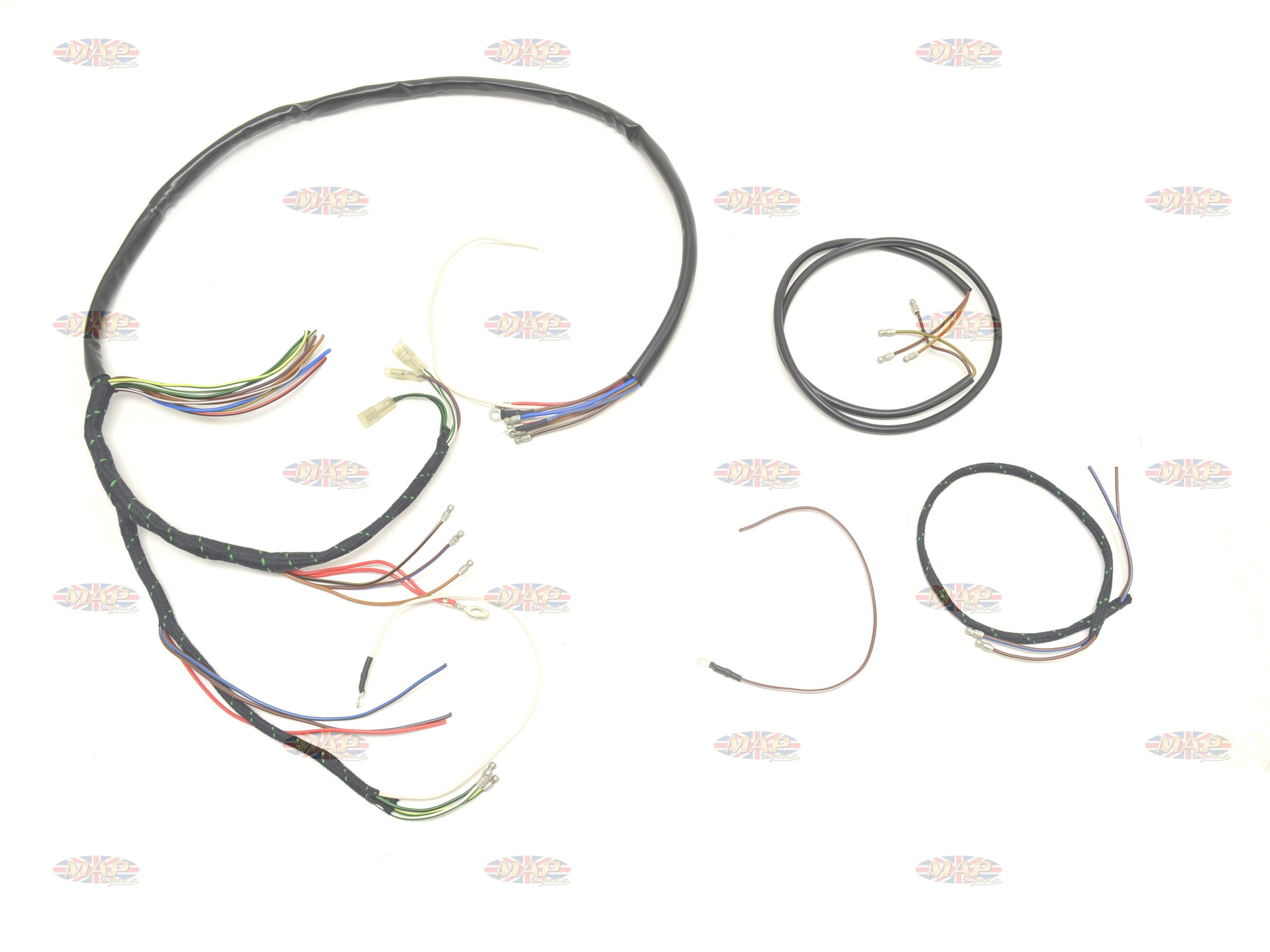 Tr6 Wiring Harness Schematics Diagram 1960 Triumph 62 T120 Uk Made High Quality Honda Accord