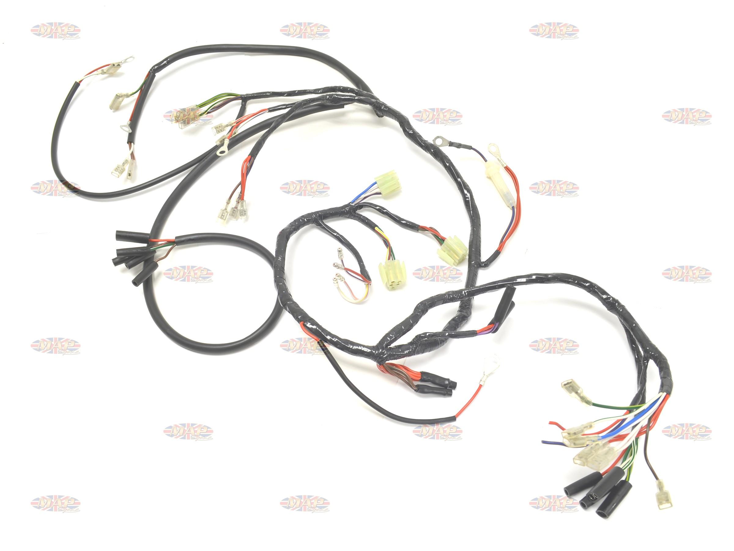 Admirable Norton Commando 1975 77 Mkiii Main Wiring Harness Wiring Digital Resources Unprprontobusorg