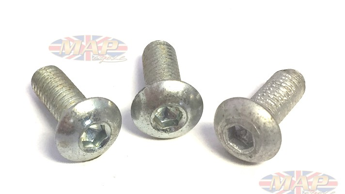 Triumph Trident, BSA Rocket 3, Allen-Head, Points Cover Screw Set MAP3160